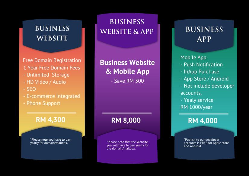 website and app